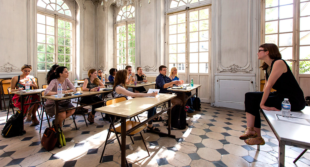 Creative Writing Summer Workshop Paris American Academy
